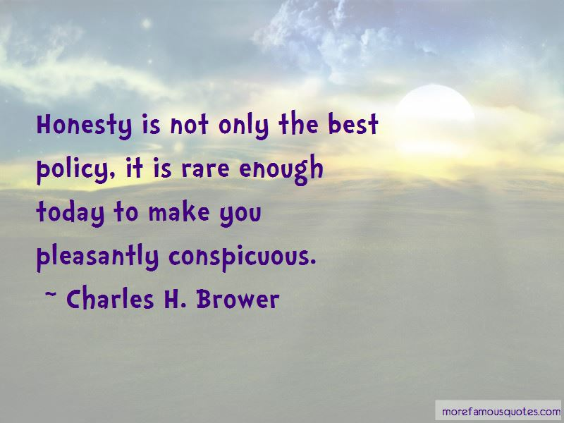 Charles H. Brower Quotes