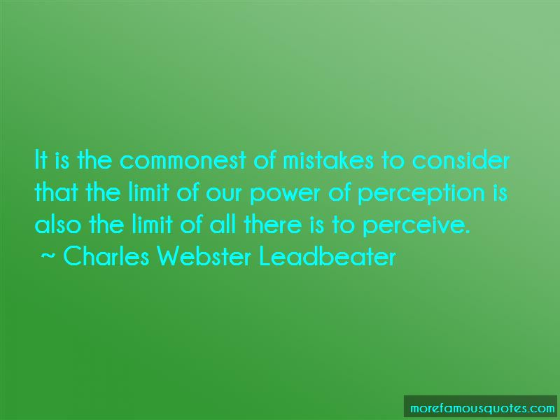 Charles Webster Leadbeater Quotes Pictures 2