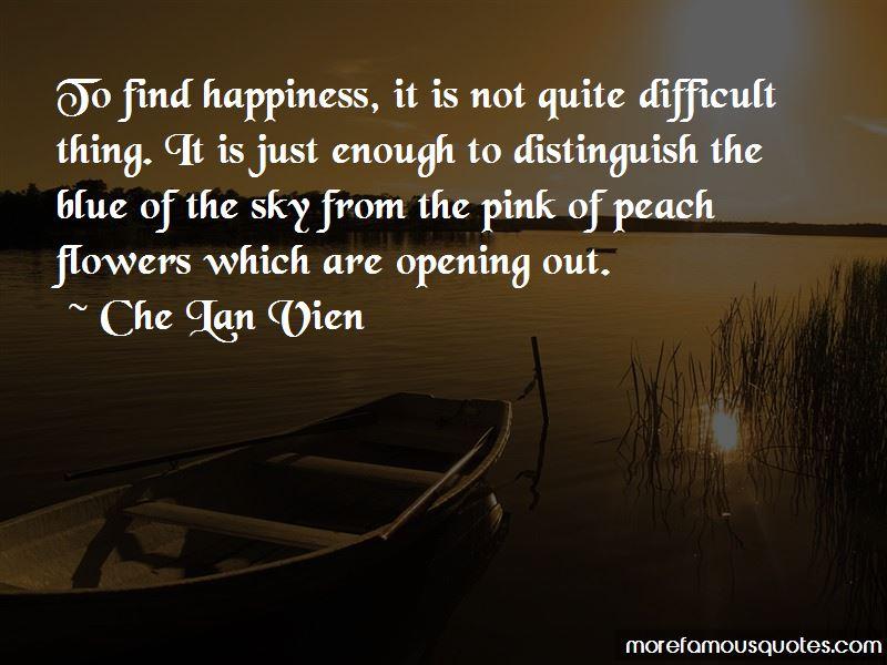 Che Lan Vien Quotes