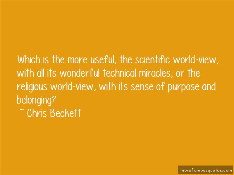 Chris Beckett Quotes Pictures 3
