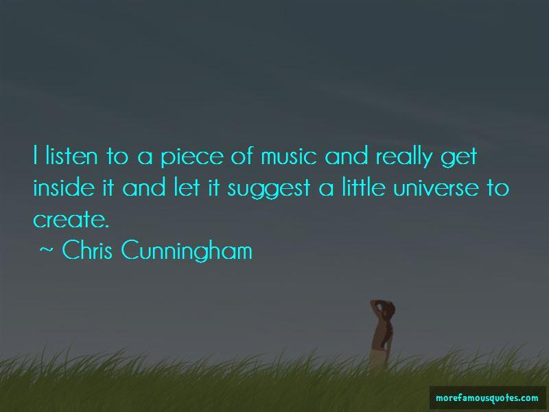 Chris Cunningham Quotes Pictures 3