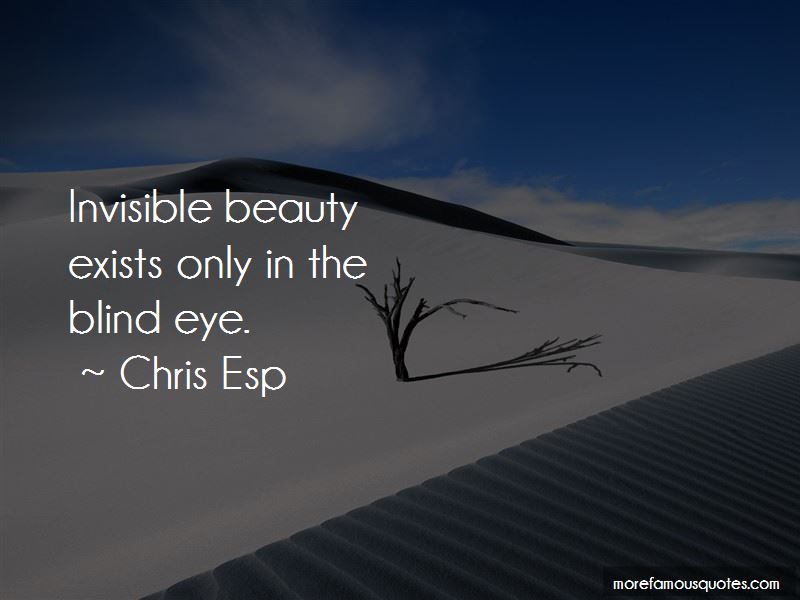 Chris Esp Quotes
