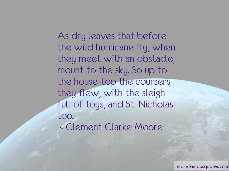Clement Clarke Moore Quotes Pictures 2