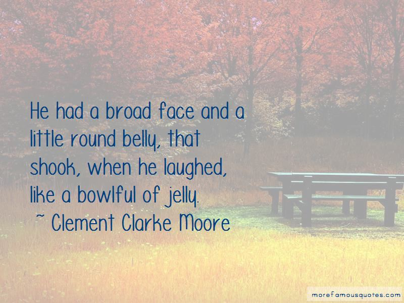 Clement Clarke Moore Quotes Pictures 3