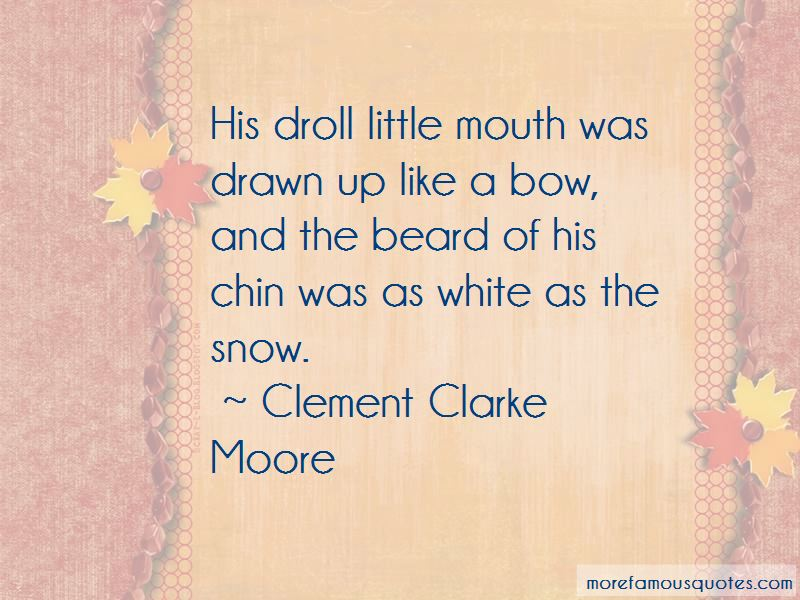 Clement Clarke Moore Quotes