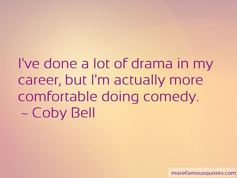 Coby Bell Quotes Pictures 3