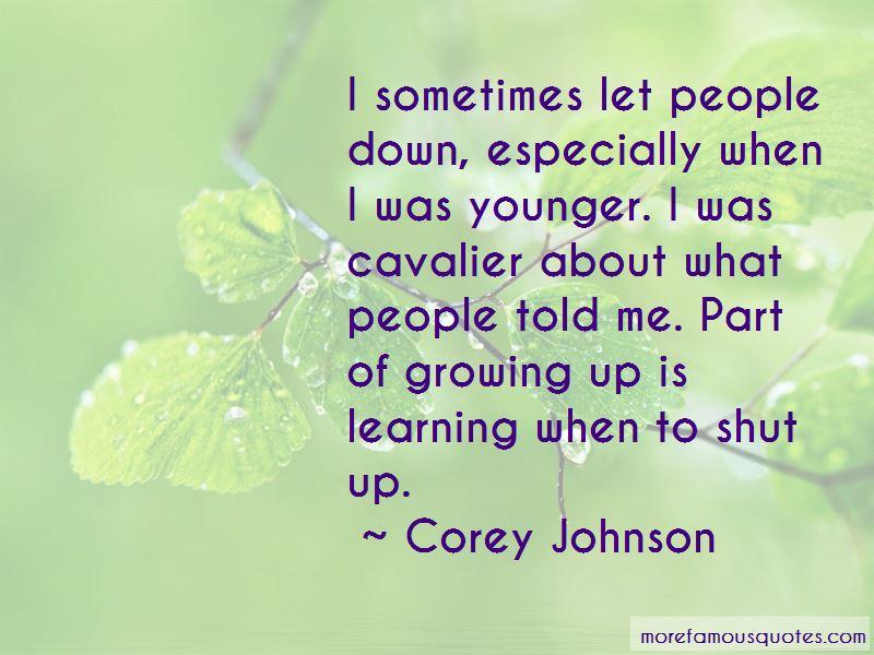 Corey Johnson Quotes Pictures 3