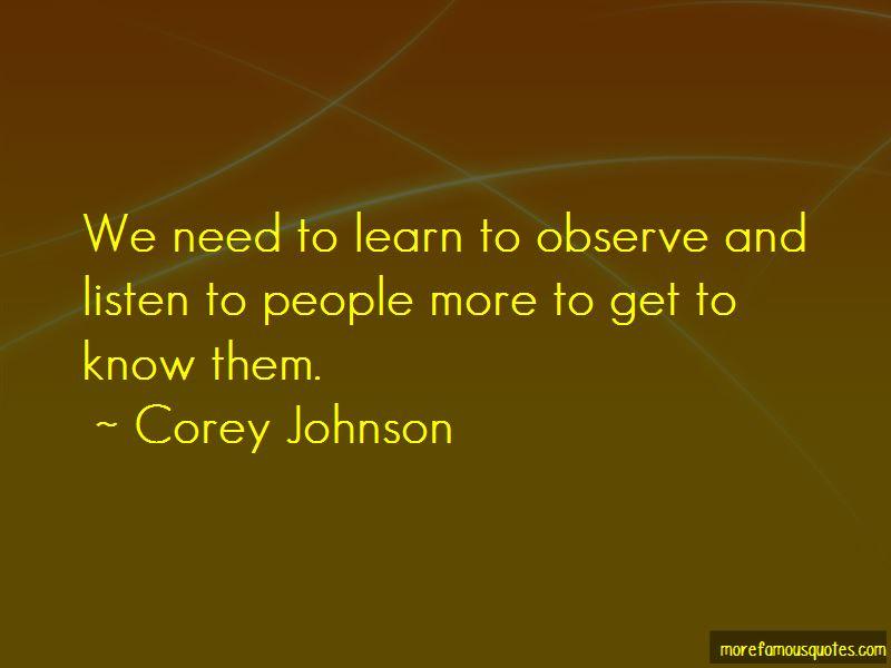 Corey Johnson Quotes