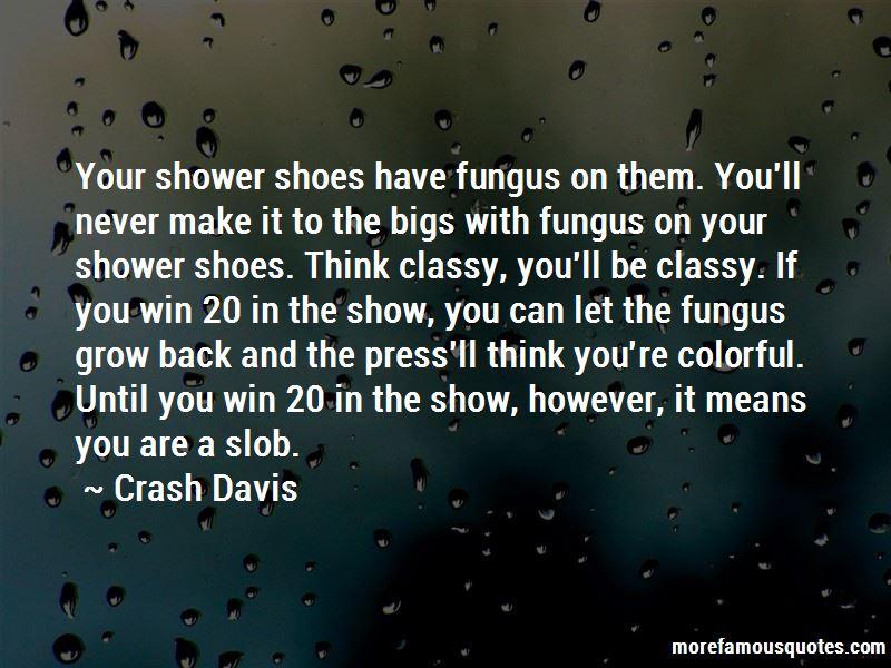 Crash Davis Quotes