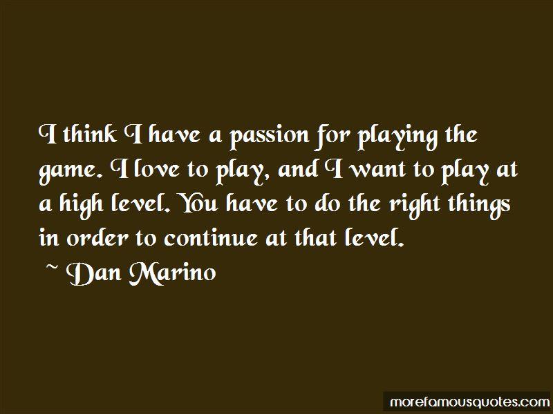 Dan Marino Quotes