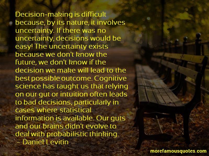 Daniel Levitin Quotes