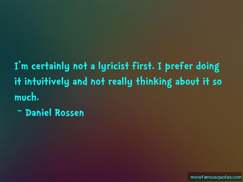Daniel Rossen Quotes Pictures 3