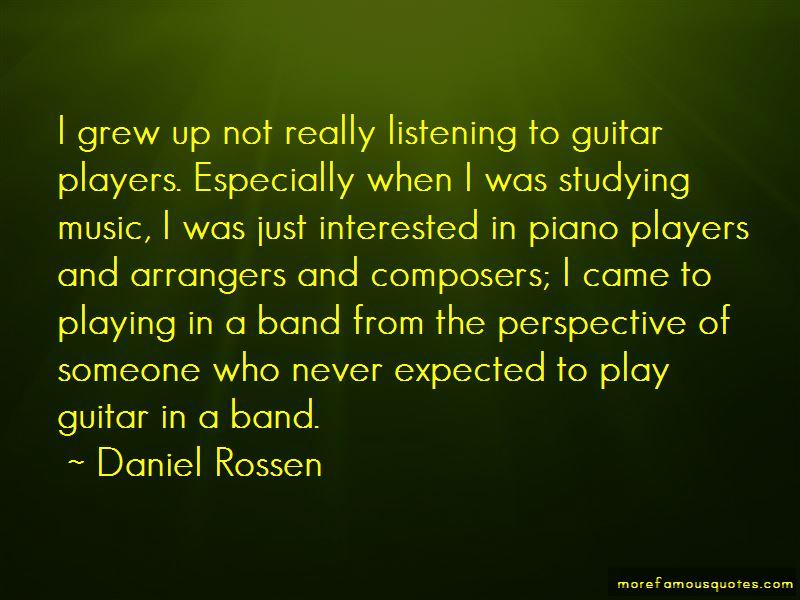 Daniel Rossen Quotes Pictures 4