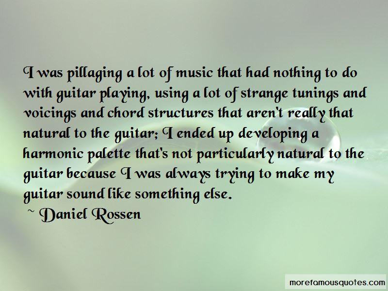 Daniel Rossen Quotes
