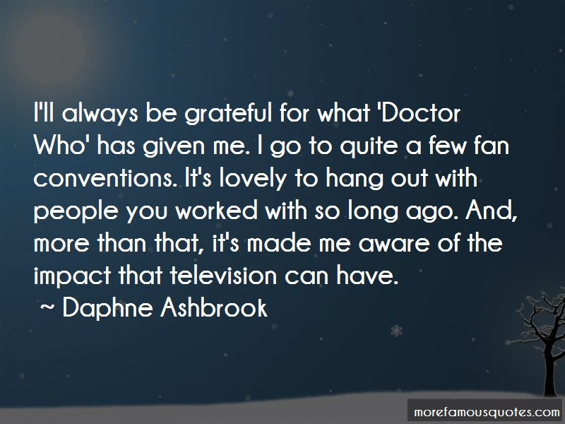 Daphne Ashbrook Quotes Pictures 2