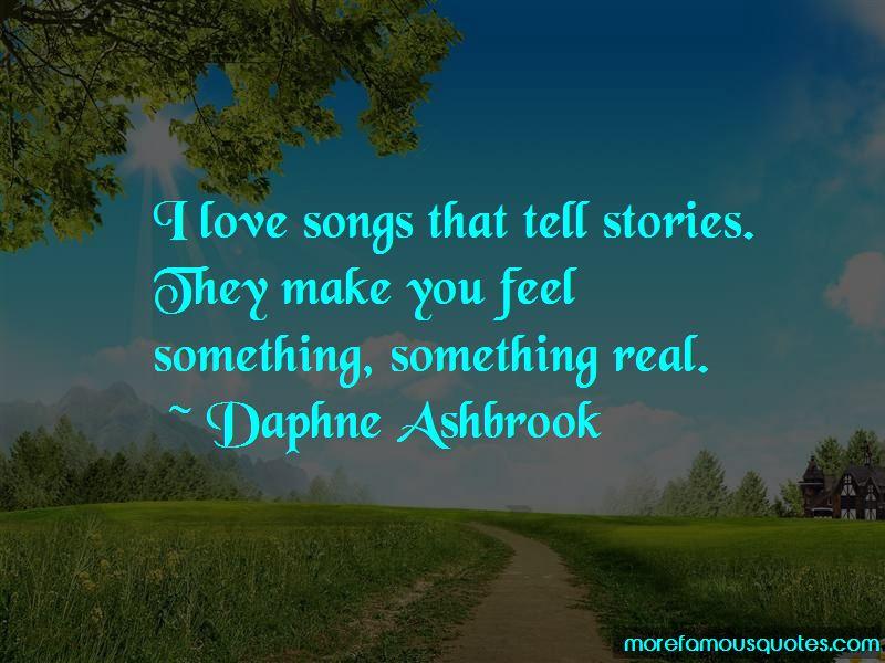 Daphne Ashbrook Quotes