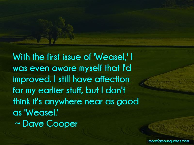 Dave Cooper Quotes Pictures 2