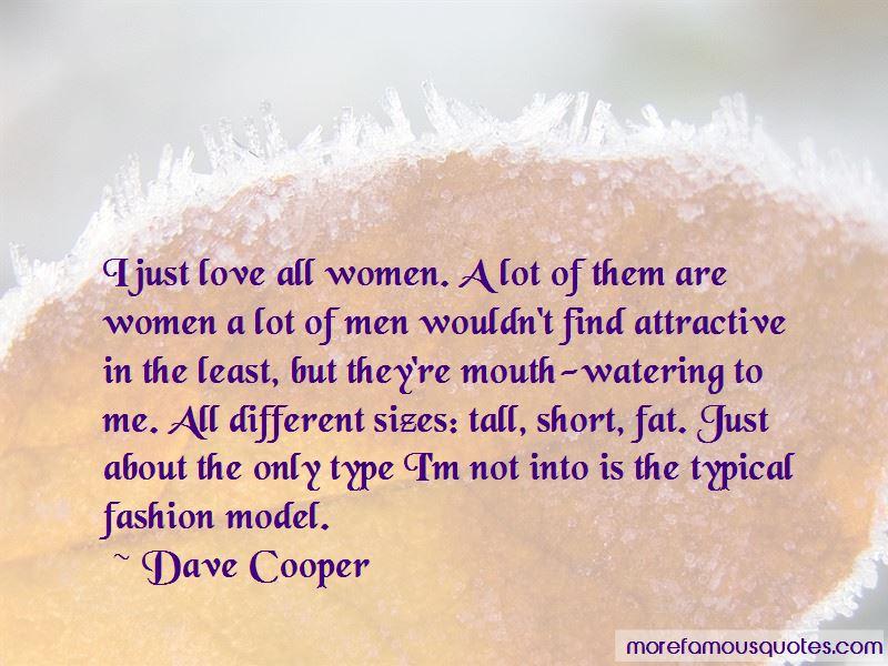 Dave Cooper Quotes