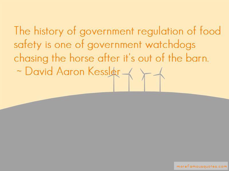 David Aaron Kessler Quotes