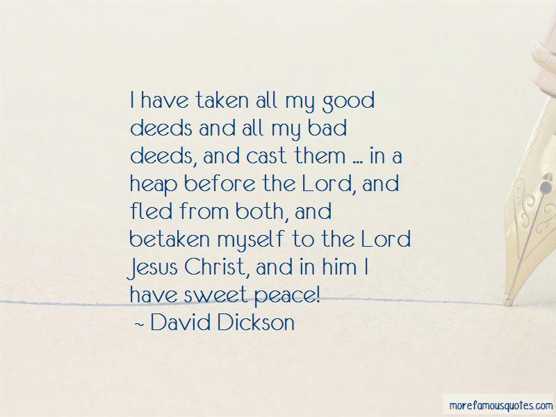 David Dickson Quotes