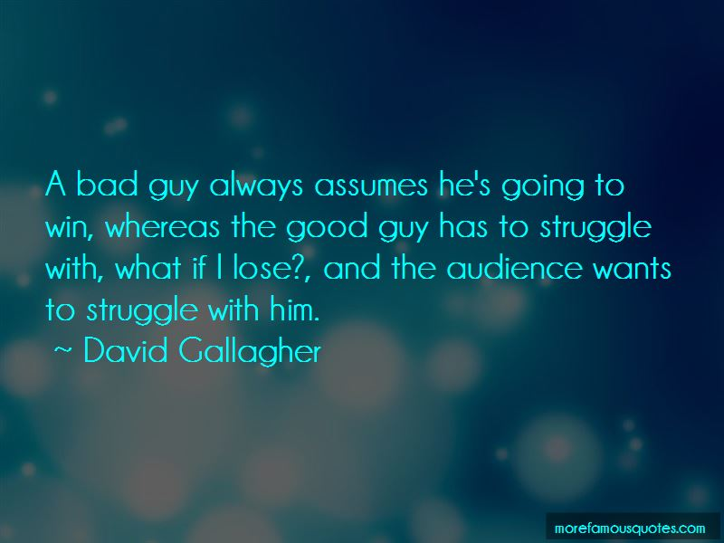 David Gallagher Quotes Pictures 2