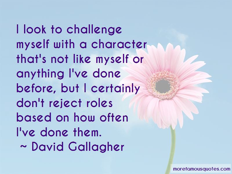 David Gallagher Quotes Pictures 3