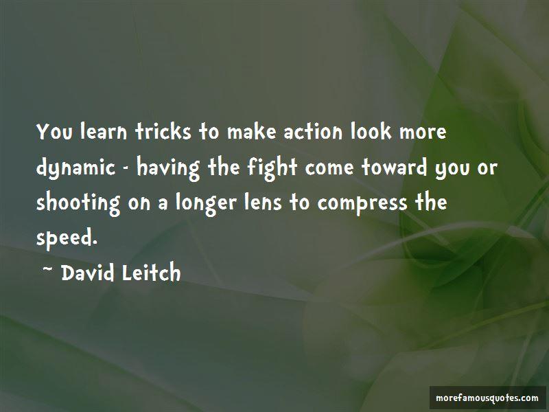 David Leitch Quotes Pictures 2