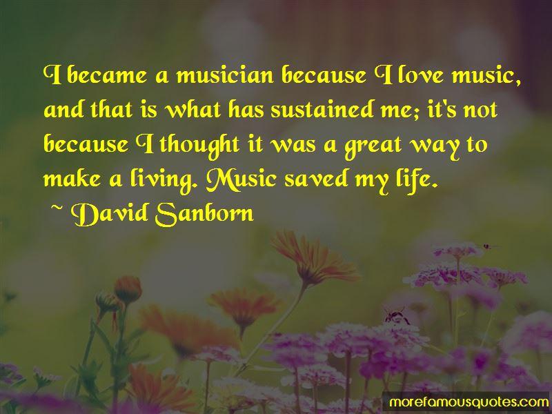 David Sanborn Quotes Pictures 2