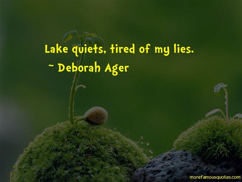 Deborah Ager Quotes Pictures 2