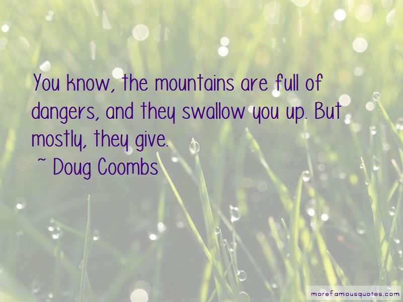 Doug Coombs Quotes
