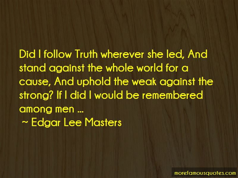 Edgar Lee Masters Quotes Pictures 2