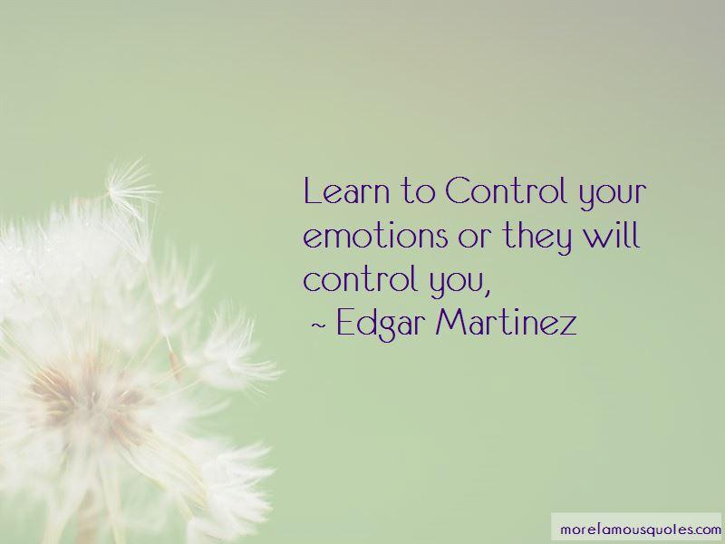 Edgar Martinez Quotes