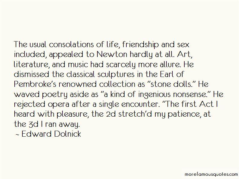 Edward Dolnick Quotes