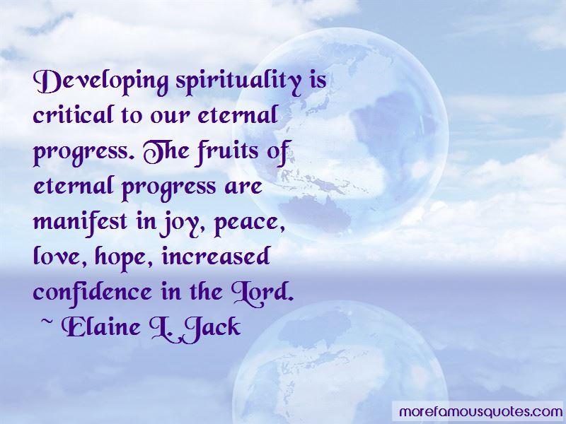 Elaine L. Jack Quotes Pictures 2