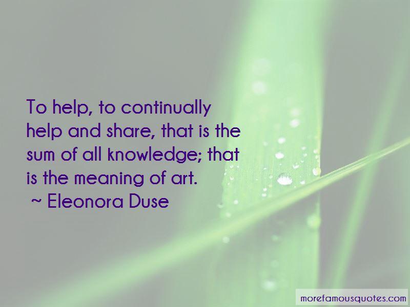 Eleonora Duse Quotes Pictures 3