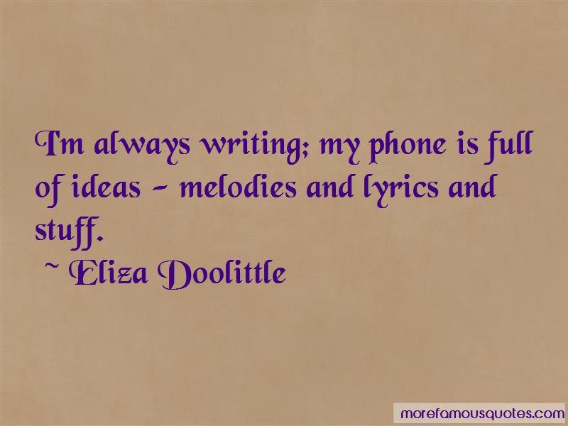 Eliza Doolittle Quotes Pictures 3