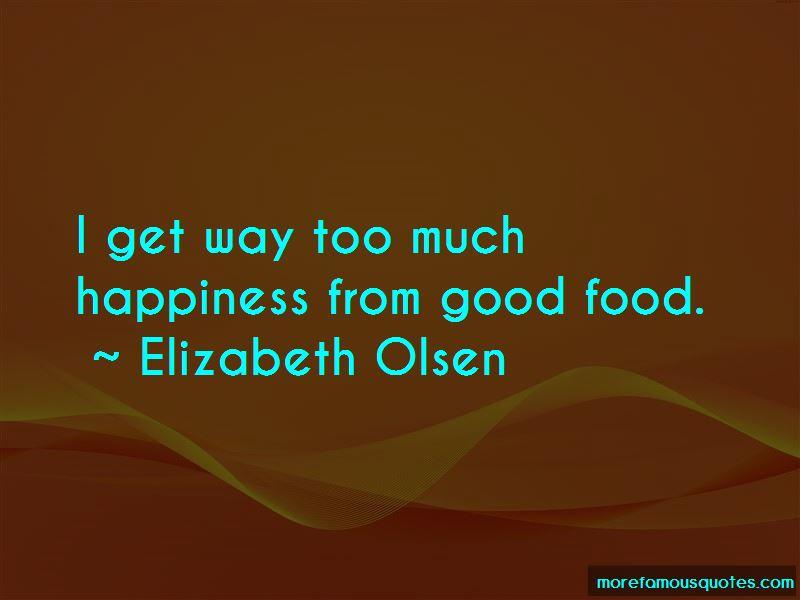 Elizabeth Olsen Quotes Pictures 2