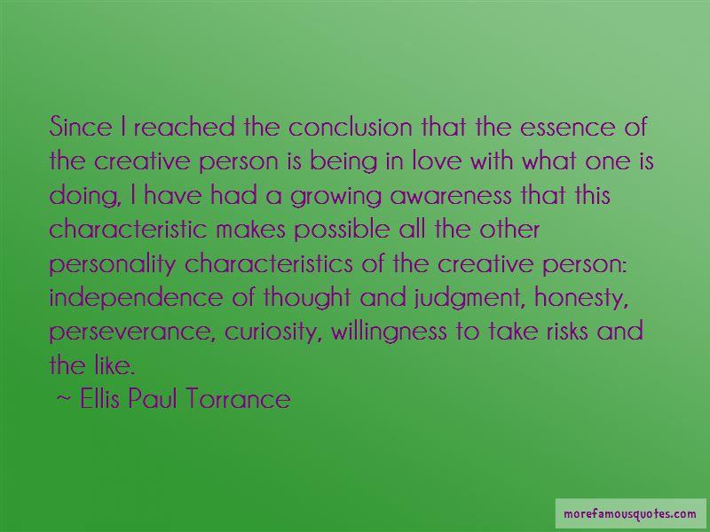 Ellis Paul Torrance Quotes