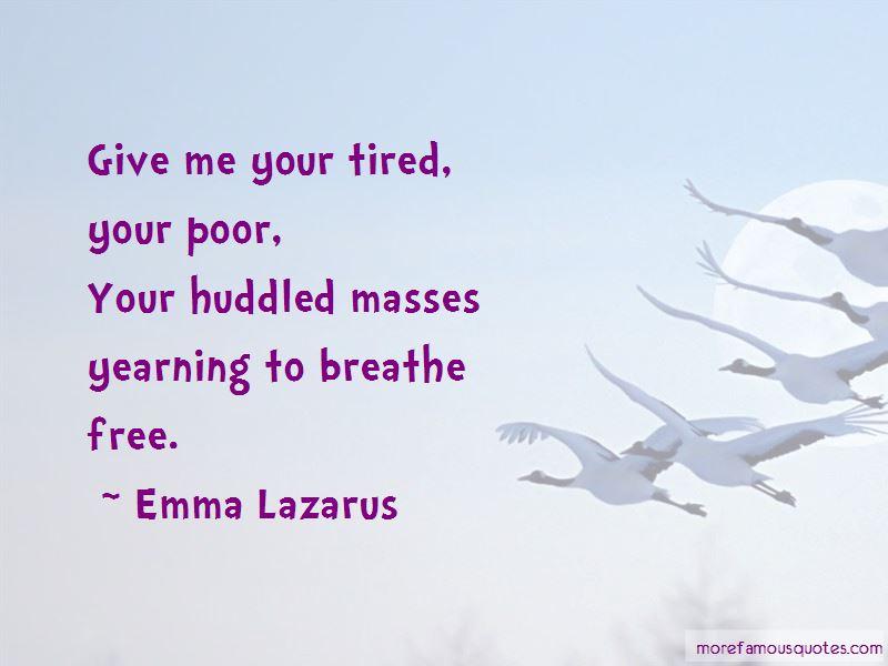 Emma Lazarus Quotes