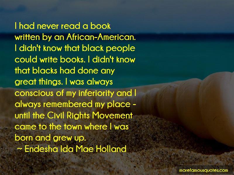 Endesha Ida Mae Holland Quotes