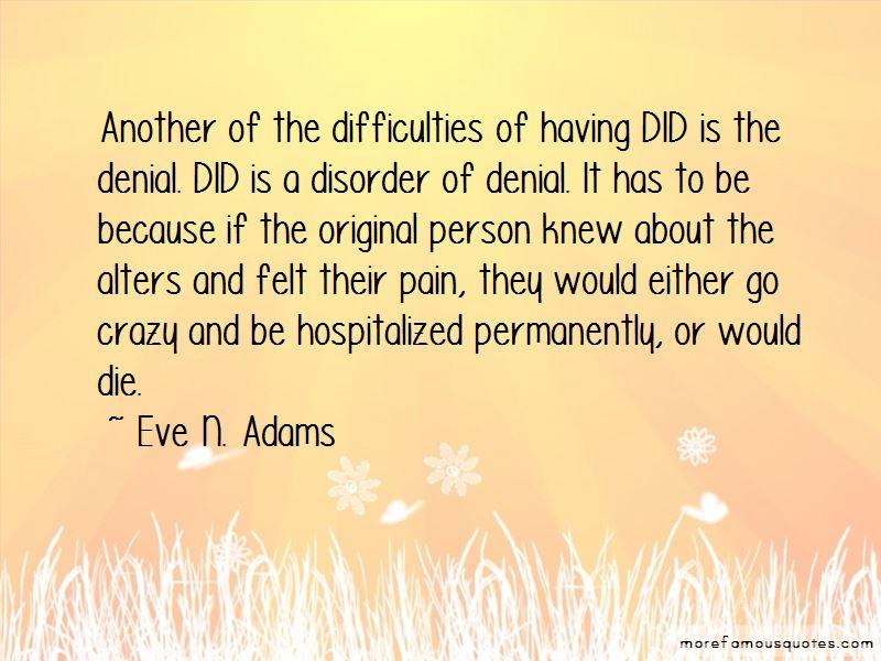 Eve N. Adams Quotes