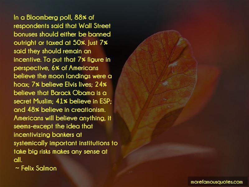 Felix Salmon Quotes
