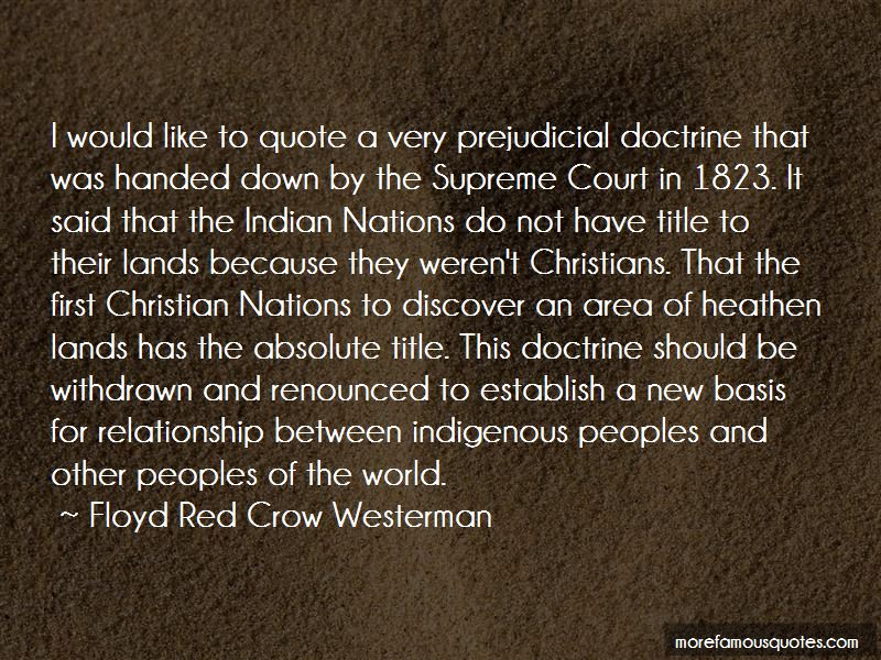 Floyd Red Crow Westerman Quotes Pictures 2