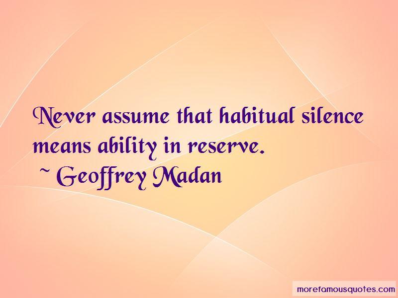 Geoffrey Madan Quotes Pictures 3