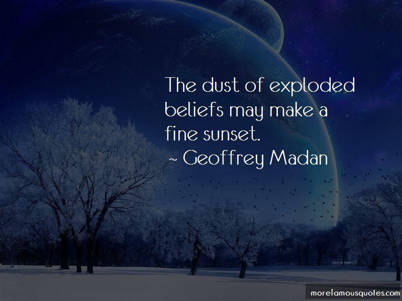 Geoffrey Madan Quotes