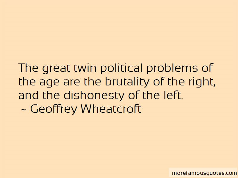 Geoffrey Wheatcroft Quotes Pictures 2