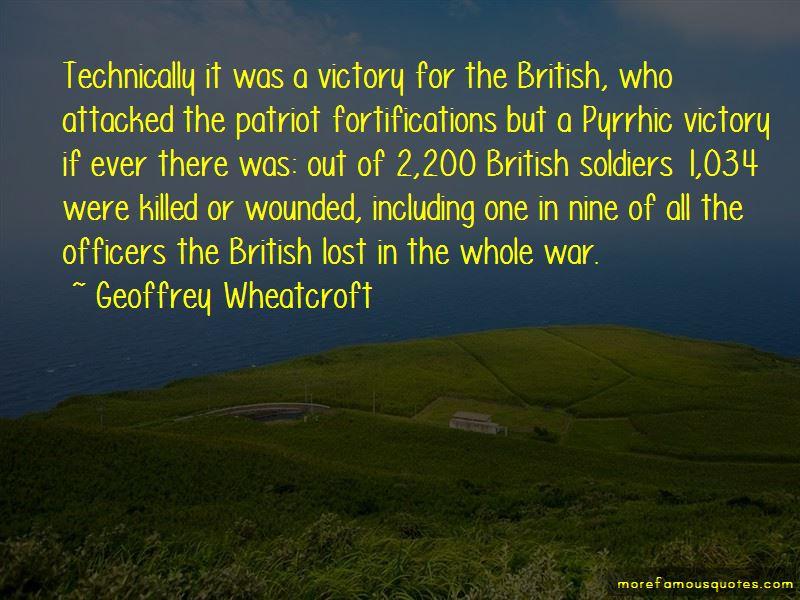 Geoffrey Wheatcroft Quotes
