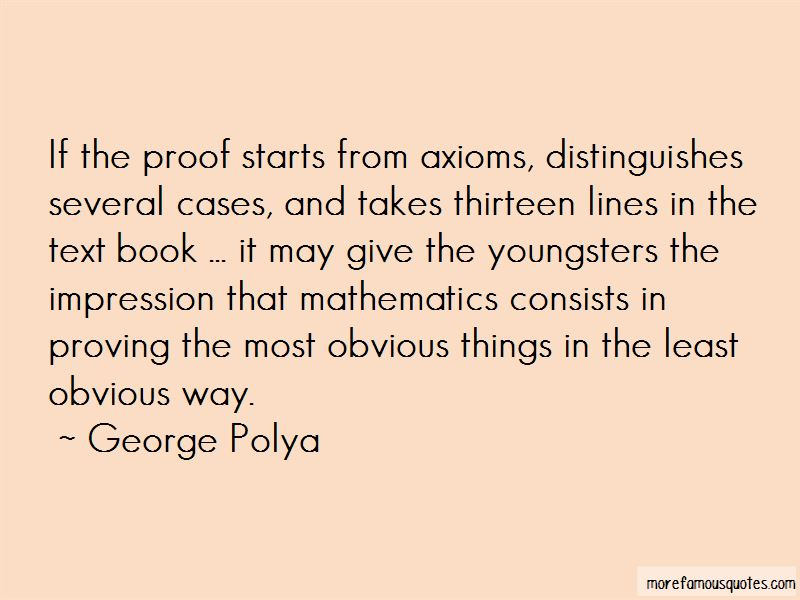 George Polya Quotes Pictures 4