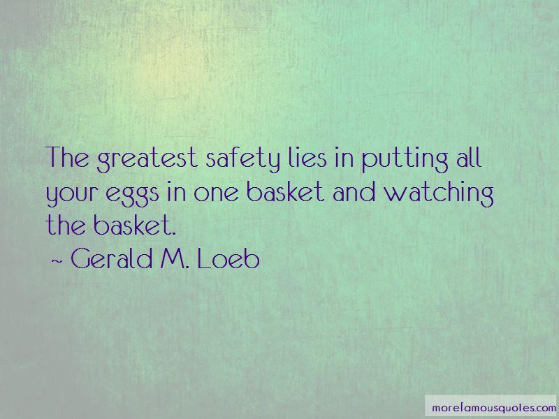 Gerald M. Loeb Quotes Pictures 2