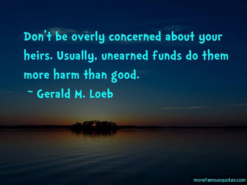 Gerald M. Loeb Quotes Pictures 3